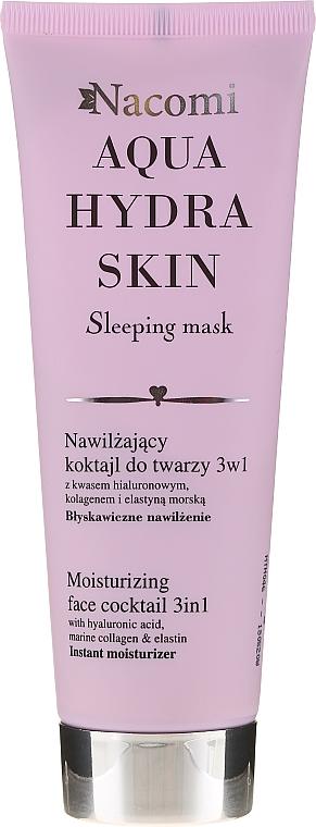 Nawilżający koktajl do twarzy 3 w 1 Błyskawiczne nawilżenie - Nacomi Aqua Hydra Skin