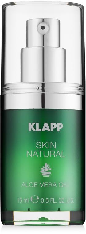 Zestaw - Klapp Skin Natural Face Care Set (mask/50ml + gel/15ml) — фото N2