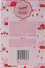 Zestaw - Bi-es Chupa Chups Strawberry Cream (h/cr 50 ml + lip/balm 1 pcs) — фото N5