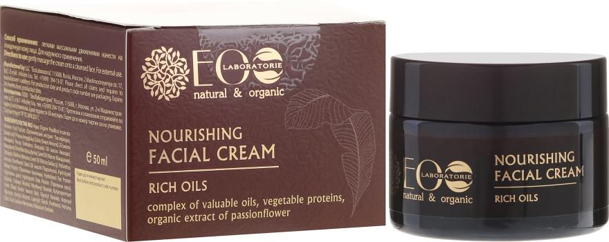 Odżywczy krem do twarzy Luksusowe oleje - ECO Laboratorie
