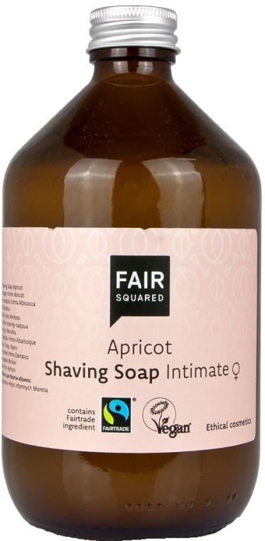 Mydło do golenia - Fair Squared Apricot Shaving Soap Intimate — фото N1