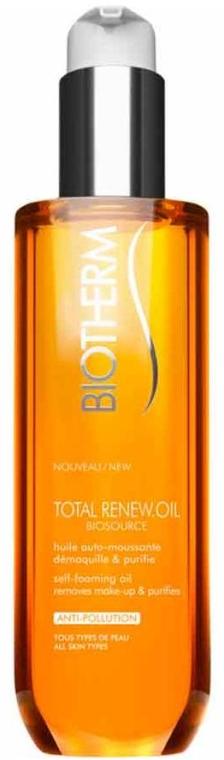Pieniący się olejek do demakijażu - Biotherm Biosource Total Renew Oil — фото N1