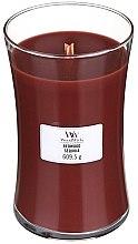 Kup Świeca zapachowa w szkle - WoodWick Hourglass Candle Redwood