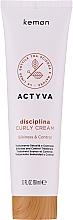 Kup Krem do włosów kręconych - Kemon Actyva Disciplina Curly Cream
