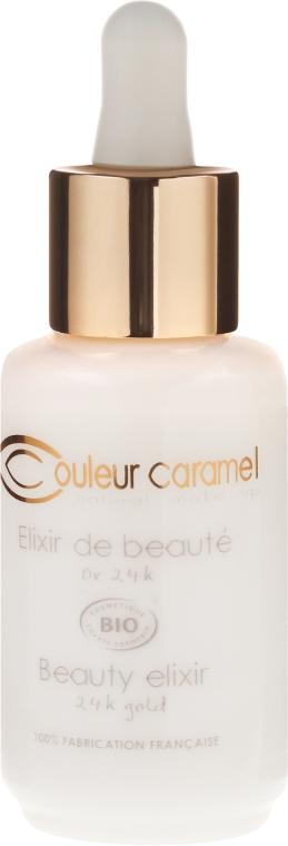 Eliksir do twarzy z 24-karatowym złotem - Couleur Caramel Beauty Elixir 24K Gold — фото N2