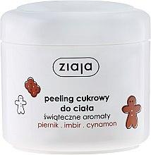 Kup Peeling cukrowy do ciała Piernik, imbir, cynamon - Ziaja Świąteczne aromaty