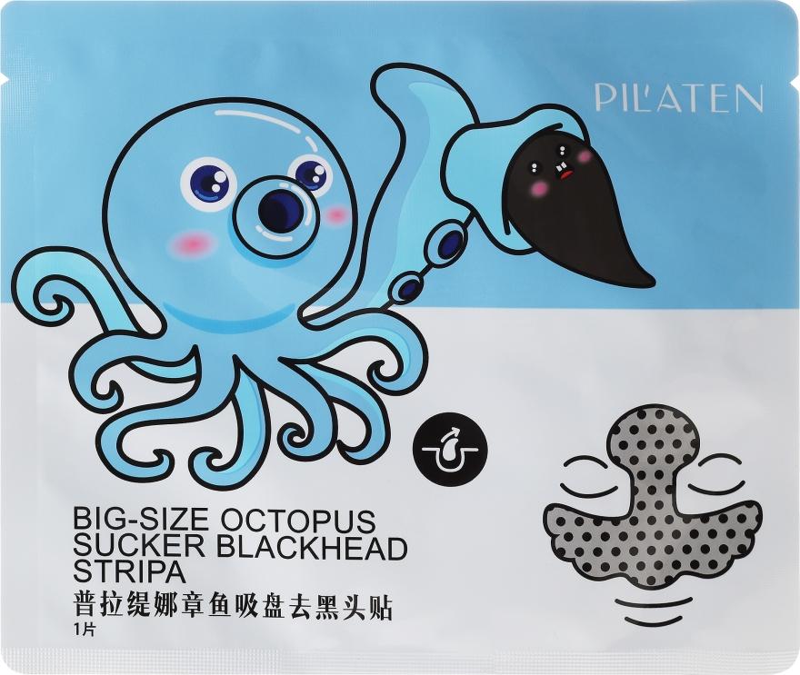 Duży plaster na wągry na nos i czoło - Pilaten Big-Size Octopus Blackhead Strip