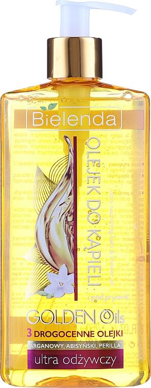 Ultraodżywczy olejek do kąpieli i pod prysznic - Bielenda Golden Oils