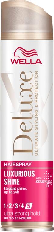 Lakier do włosów - Wella Deluxe Luxurious Shine Ultra Strong Hold — фото N1