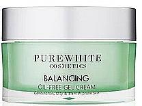 Kup Krem do twarzy bez dodatku olejków - Pure White Cosmetics Balancing Oil-Free Gel Cream