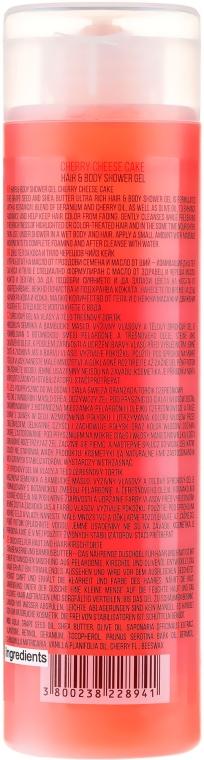 Naturalny żel pod prysznic do ciała i włosów Wiśniowy sernik - Stani Chef's Cherry Cheesecake Hair And Body Shower Gel — фото N2