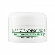 Kup Krem pod oczy z kwasem hialuronowym - Mario Badescu Hyaluronic Eye Cream