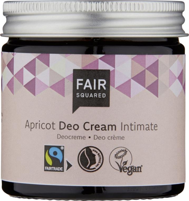 Odświeżający krem intymny - Fair Squared Apricot Deo Cream Intimate — фото N1
