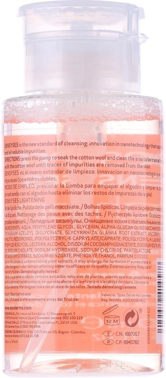 Płyn oczyszczający do skóry z przebarwieniami - SesDerma Laboratories Sensyses Lightening Cleanser — фото N2