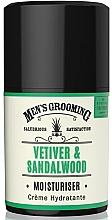Kup Nawilżający krem do twarzy dla mężczyzn Wetyweria i drzewo sandałowe - Scottish Fine Soaps Vetiver & Sandalwood Moisturiser