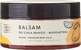 Kup Balsam do ciała Mango i mandarynka - Nature Queen Linia energetyzująco-rozświetlająca