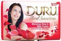Kup Mydło kosmetyczne Róża marokańska i proteiny mleczne - Duru Floral Sensations Soap