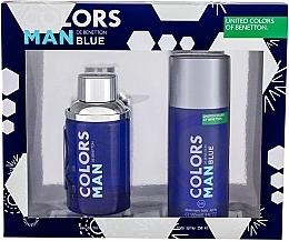Kup Benetton Colors Man Blue - Zestaw (edt 100 ml + deo 150 ml)