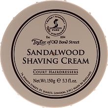 Kup Krem do golenia dla mężczyzn Liście tytoniu - Taylor of Old Bond Street Sandalwood Shaving Cream Bowl