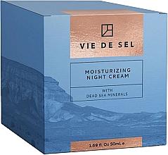 Kup Nawilżający krem do twarzy na noc z minerałami z Morza Martwego - Vie De Sel Moisturizing Night Cream