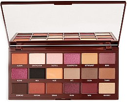 Kup Paleta cieni do powiek - I Heart Revolution Cranberries & Chocolate Palette