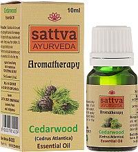 Kup Olejek cedrowy - Sattva Ayurveda Aromatherapy Cedarwood Essential Oil