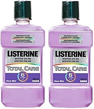 Kup Zestaw obcinaczy do paznokci - Listerine Total Care (mouth/wash/2x500ml)