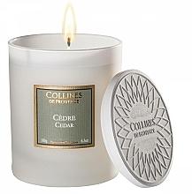 Kup Świeca zapachowa Cedr - Collines De Provence Cedar Scented Candle