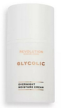 Kup Krem do twarzy na noc - Revolution Skincare Glycolic Overnight Moisture Cream