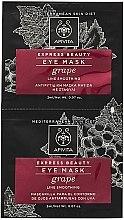 Kup Maska przeciwzmarszczkowa pod oczy z winogronami - Apivita Express Beauty Eye Mask Grape
