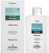 Kup Szampon do włosów przeciw łojotokowemu zapaleniu skóry - Frezyderm Sebum Control Seborrhea Shampoo
