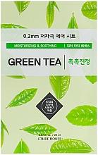 Kup Nawilżająca maseczka kojąca w płachcie do twarzy z zieloną herbatą - Etude House Therapy Air Mask Green Tea