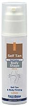Kup PRZECENA! Samoopalający balsam ujędrniający do ciała - FrezyDerm Self Tan Body Shape Lotion *