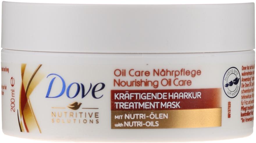 Nawilżająca maska do włosów Nourishing Oil Care - Dove