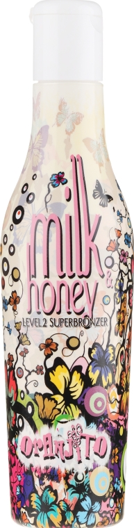 Mleczko do opalania w solarium - Oranjito Level 2 Milk & Honey — фото N1