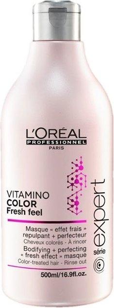 Maska do włosów koloryzowanych - L'Oreal Professionnel Vitamino Color Fresh Feel Mask — фото N5