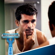 Jednorazowe maszynki do golenia, 6+2 szt. - Gillette Blue 3 — фото N4