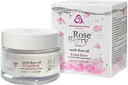 Kup Krem pod oczy z olejkiem różanym i jagodam goji - Bulgarian Rose Rose Berry Nature Cream Around Eyes