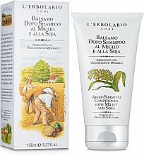 Kup Odżywka do włosów Ekstrakt z prosa i soi - L'Erbolario Balsamo Dopo Shampoo Al Miglio & Alla Soja