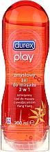 Kup PRZECENA! Intymny żel do masażu 2w1 Ylang-Ylang, 200 ml. - Durex Play Massage 2 in 1 Sensual *