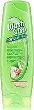 Kup Odżywka z masłem shea do włosów zniszczonych - Wash&Go 100% Softness Conditioner