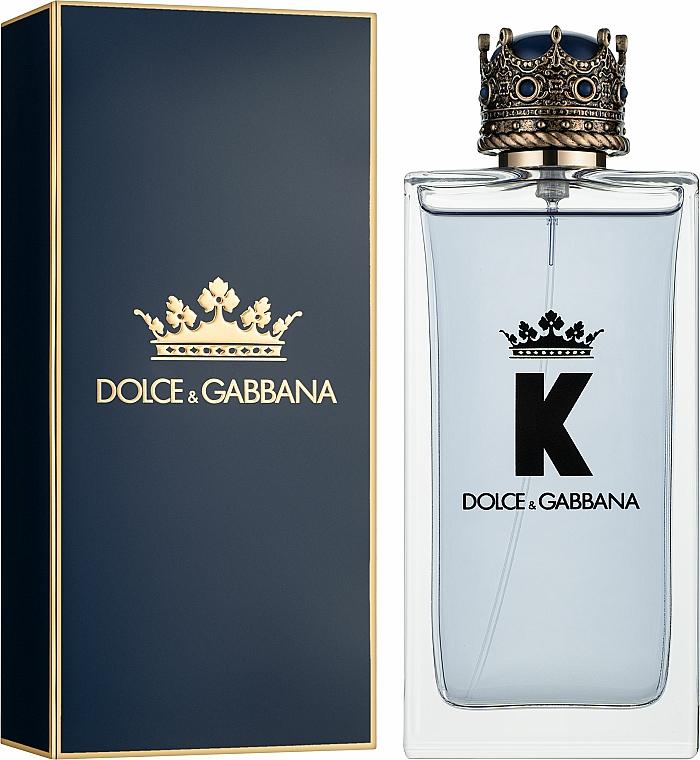 Dolce & Gabbana K by Dolce & Gabbana - Woda toaletowa — фото N2