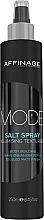 Kup Teksturyzujący spray solny do włosów - Affinage Salon Professional Mode Salt Spray