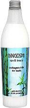 Kup Mleczko kolagenowe z proteinami jedwabiu do kąpieli - BingoSpa Collagen Lotion With Silk Proteins Bath