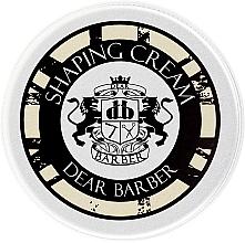 Kup Modelujący krem do włosów dla mężczyzn - Dear Barber Shaping Cream