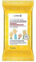 Kup Oczyszczające chusteczki antybakteryjne do rąk dla dzieci - Luba