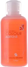 Kup PRZECENA! Zmywacz do lakieru hybrydowego - Silcare The Garden Of Colour Melon Orange *