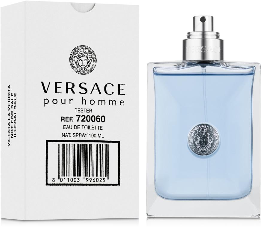 Versace Pour Homme - Woda toaletowa (tester bez nakrętki) — фото N2