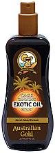 Kup Przyspieszacz opalania w sprayu - Australian Gold Dark Tanning Exotic Oil Spray