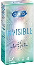 Kup Prezerwatywy, 10 szt. - Durex Invisible Close Fit